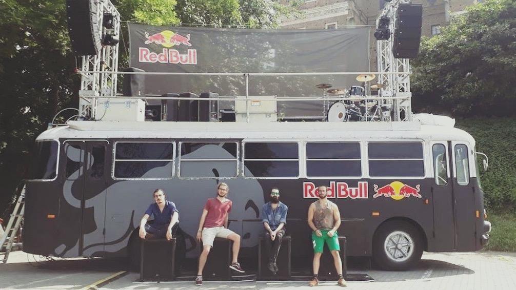 RedBull Tour Bus