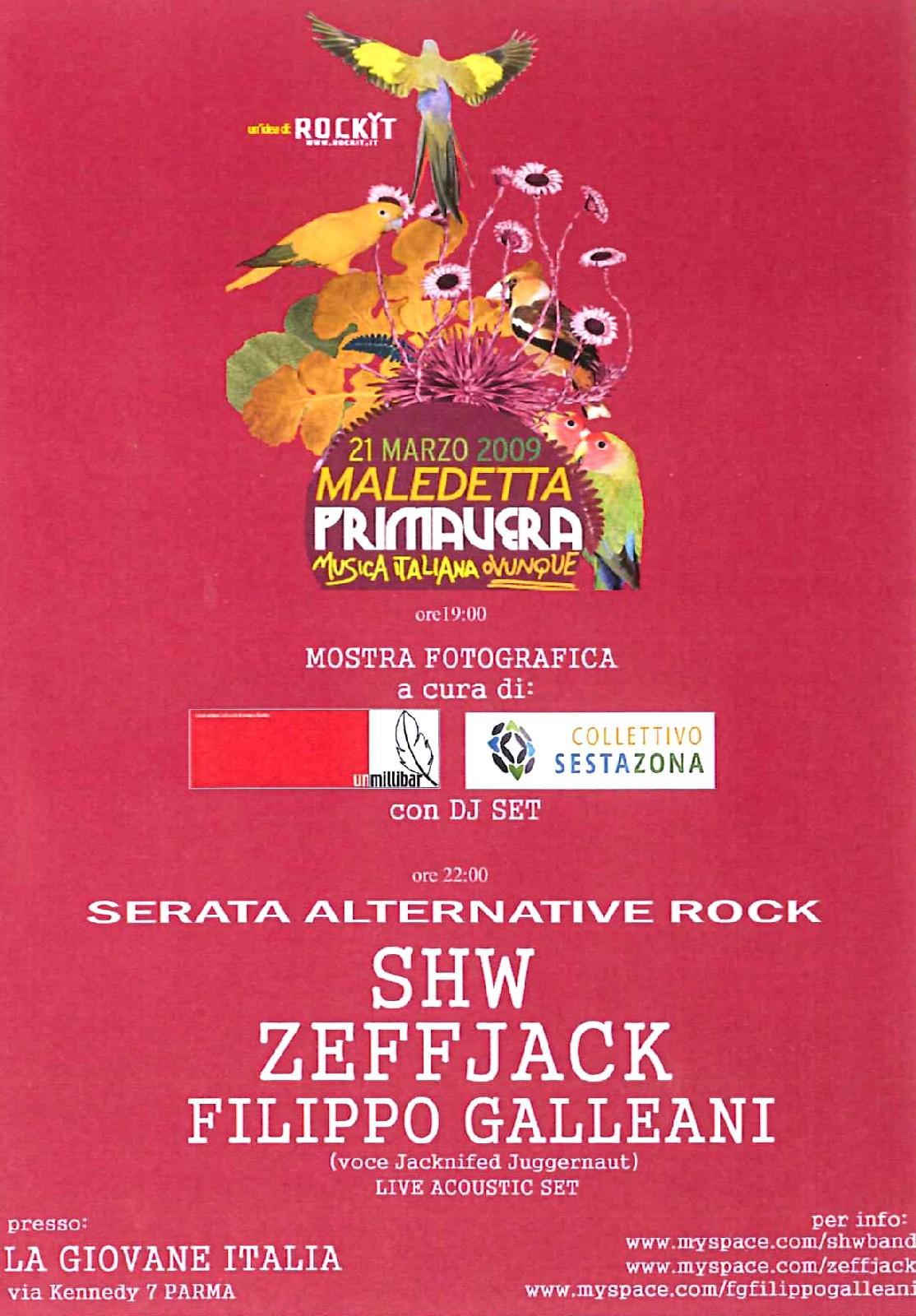 Maledetta Primavera Parma @La Giovane Italia