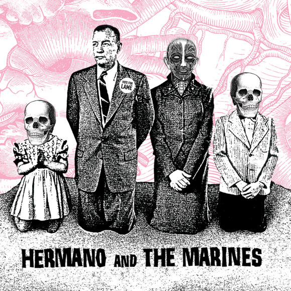 hermano and the marines - promo cover - 2008