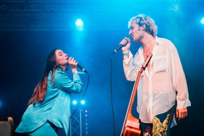 Laila Al Habash + Tatum Rush live @MI MANCHI