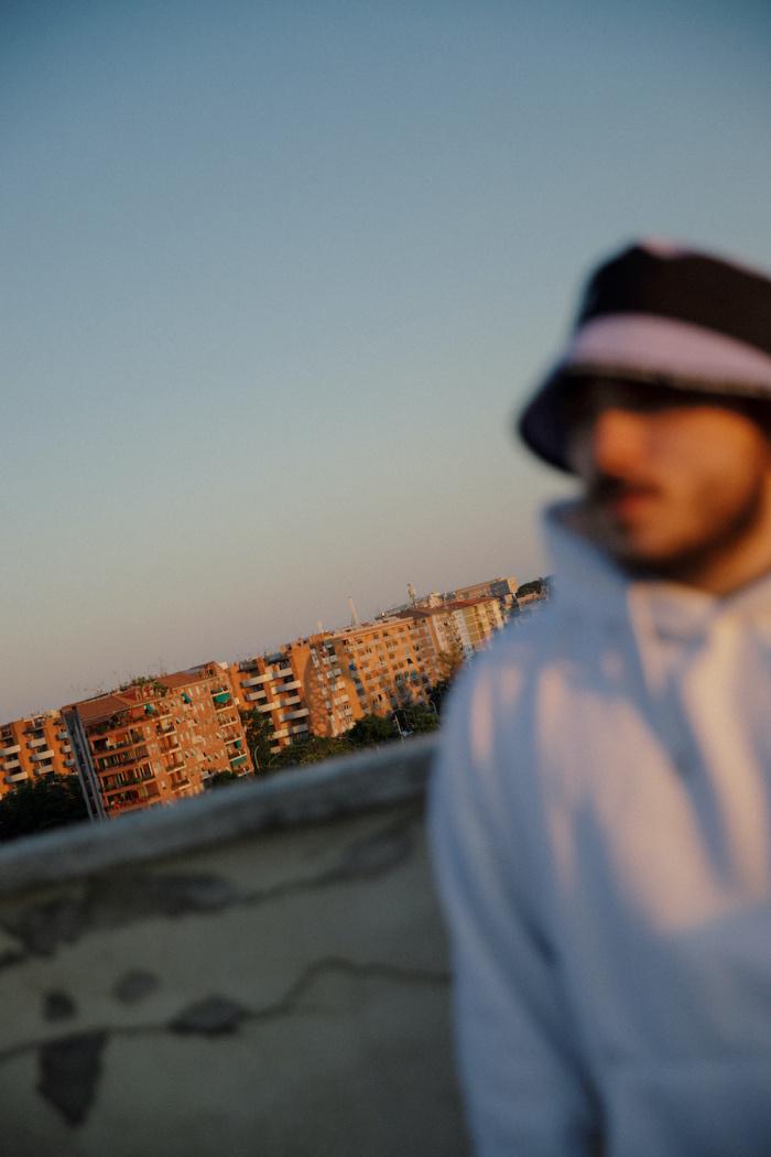 Esseho nel quartiere Ostiense, la sua zona. Foto di Ilaria Ieie