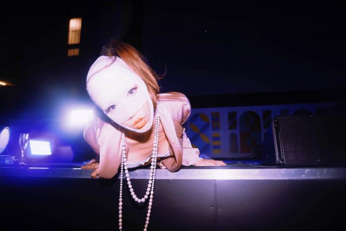 Jaz Ayling x Tatum Rush live @MI MANCHI in Triennale - foto Silvia Violante Rouge