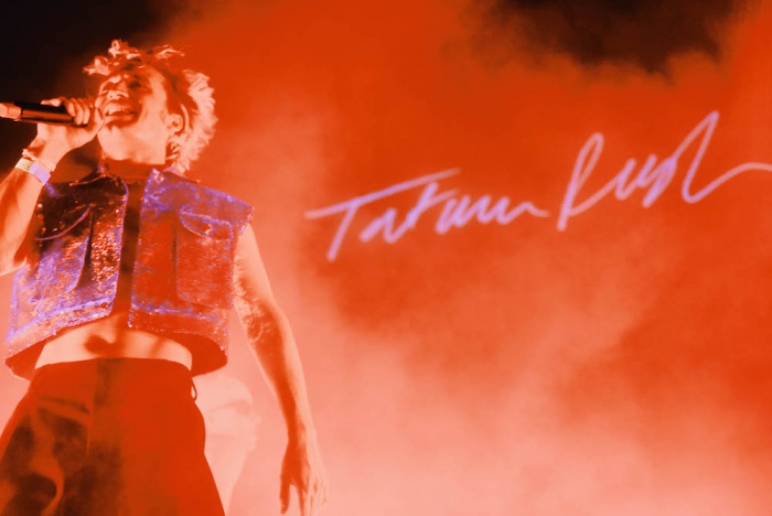 Tatum Rush live @MI MANCHI in Triennale - foto Silvia Violante Rouge