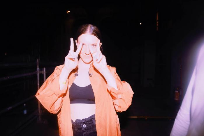 Ginevra @MI MANCHI in Triennale - foto Silvia Violante Rouge
