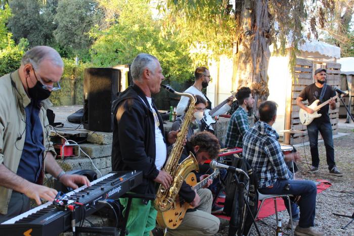 Jam Session alla Fattoria di Ostia Antica - foto Claudia Mazziotta