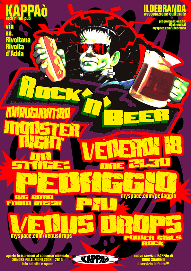 ven 18 settembre Rock n' Beer inauguration monster night
