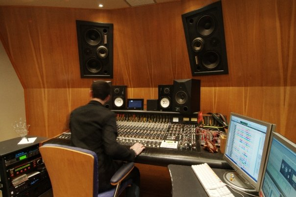 Harrison Room - Mixing Session