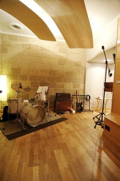 Groovefarm Recording Room