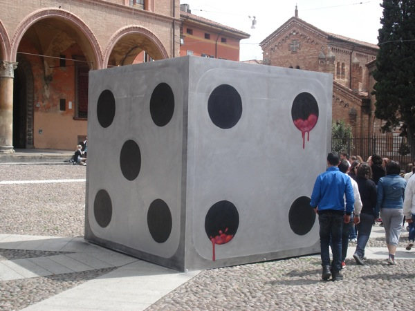 Cube Painting in Santo Stefano