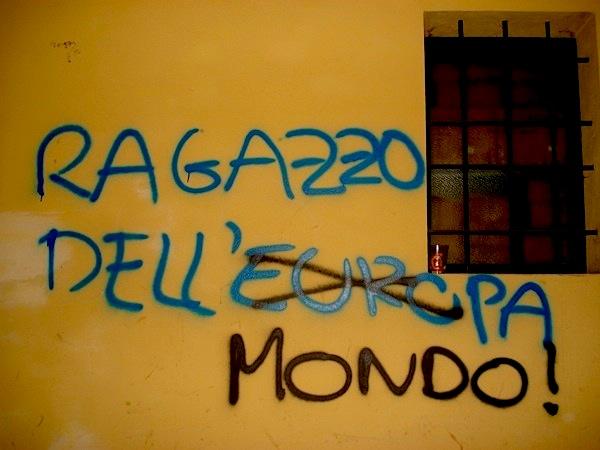 i graffiti contro cui lotta il comune