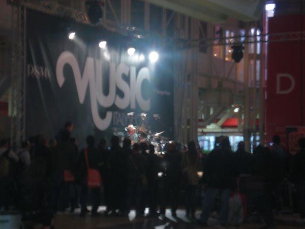 palco coperto in fiera