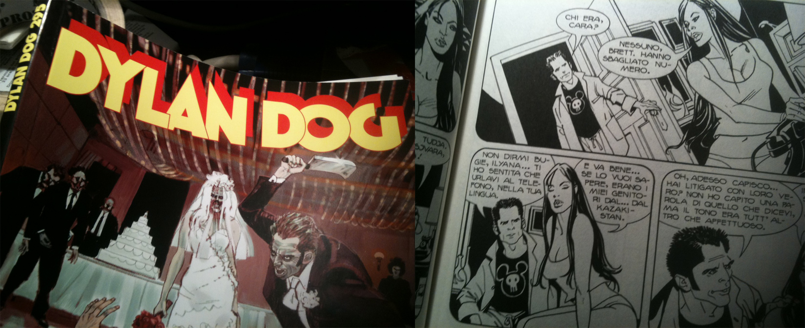 Inferno T-shirt appears on Dylan Dog n° 295!
