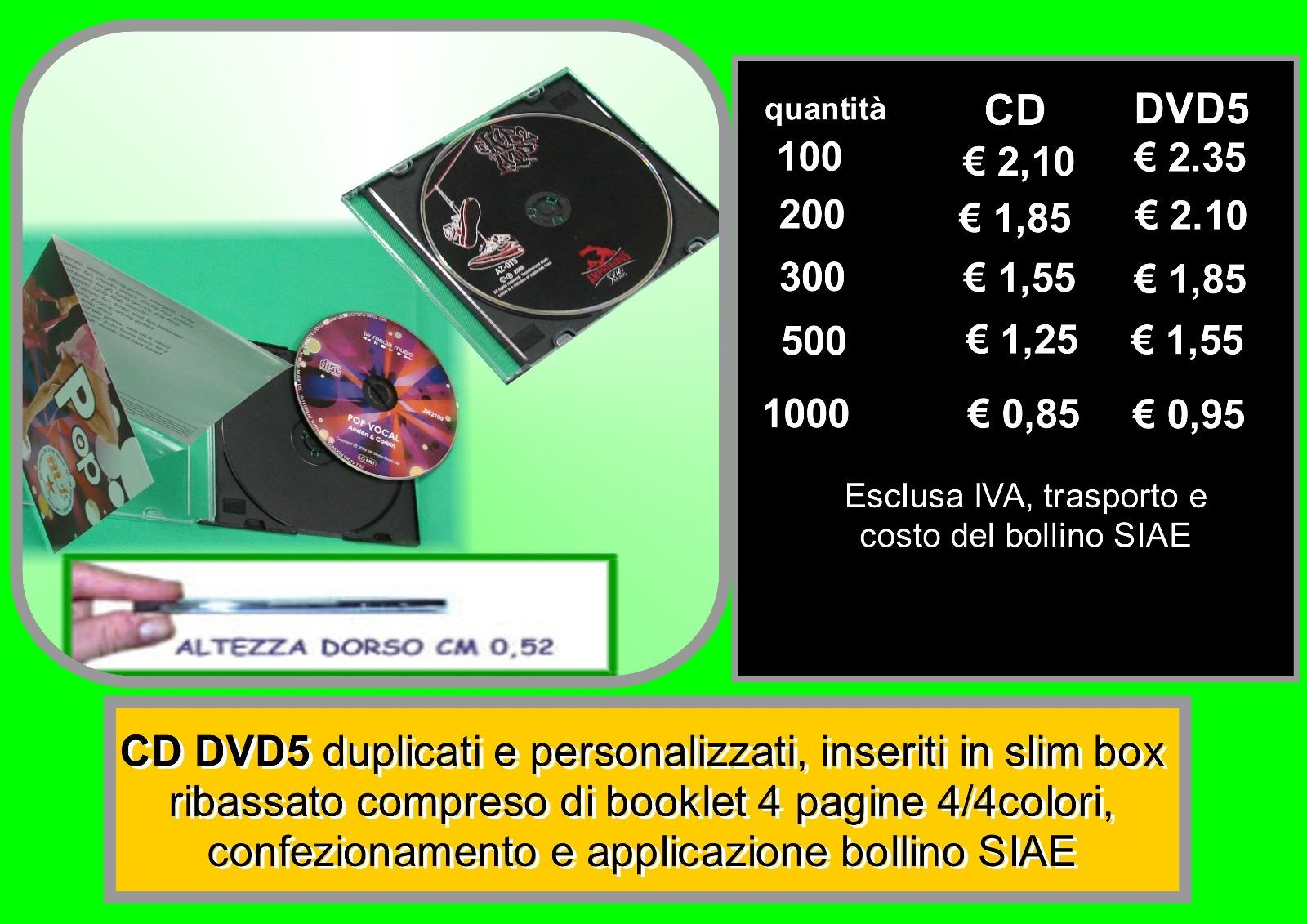 cd dvd in slim box