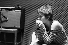 Fege-FiscerPrasi recording sessions (foto Simone Merli)