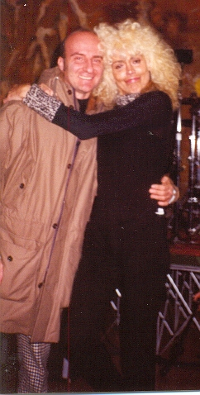 1999 Naska con Donatella Rettore.jpg