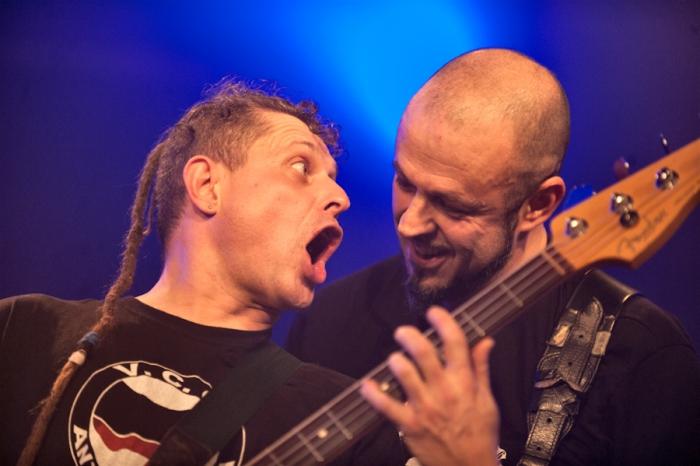 I Punkreas sul palco