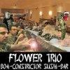 album Boa Constrictor Sushi Bar - Flower Trio