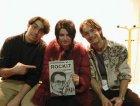 Pons (rockit), Robi dei Verdena e Luca(rockit), al MEI di faenza 2001. sul tavolo dello stand di fianco... ormai vuoto