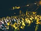 Il pubblico durante il concerto di Appino