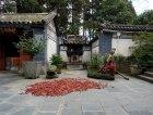 Peperoncini essiccati in un Tempio buddhista.