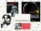 I cofanetti di Guccini, De André, Battiato e Lucio Dalla