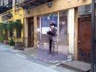 Joe Strummer dei Clash a New York
