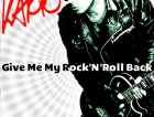 Karto - cover album Give me my rock 'n' roll back