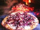 Gorgonzola, radicchio, scaglie di parmigiano