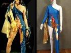 Il costume usato da Bowie durante il tour di Ziggy Stardust