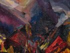 Sunrise in the mountains di  David Bomberg