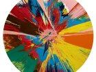 Beautiful, Shattering, Slashing, Violent, Pinky, Hacking, Sphincter Painting di Damien Hirst