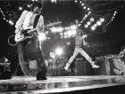 I Rolling Stones sul palco nel 1975