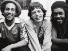 Mick Jagger, Bob Marley e Peter Tosh nel 1978