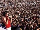 Mick Jagger sul palco nel 1981