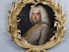 Un ritratto di Handel presente nell'appartamento