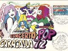 La cartolina del Villa Pamphili Pop Festival (1972)