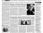 Evento Maledetta primavera: Articolo su La Sicilia (pagina intera)