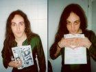 Manuel Agnelli fotografato nei cessi del Tittitwister... (1999)