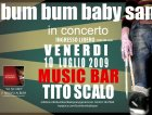 live at Music Bar, Tito Scalo