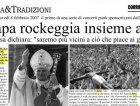 Quando il Papa ci fece suonare in suo onore, al Vaticano