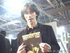 Cristiano Godano al MEI di Faenza, con la Fanza Rockit n.11