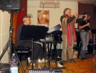 Carla Rivi e Raul D'Oliveira il Trombettista di Eltton John session Live