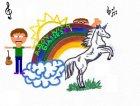 Versione con arcobaleno