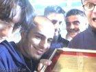 i neurodisney vincitori del premio uebb rockit al MEI di faenza, 2001.