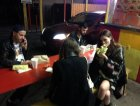Un sano burrito after-show