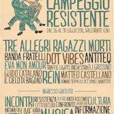 Campeggio Resistente, tre serate di concerti a Valloriate