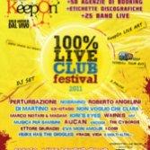 Keepon 100% Live Club premia i migliori live del 2011