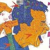"""Il retro di copertina di """"Soul Mining"""", l'album dei The The"""