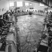 40 dj hanno creato la più grande catena di scratch del mondo