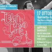 Italiani Brava Gente Roma Quirinetta 17 ottobre